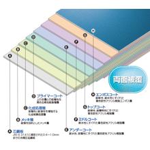 着色耐酸アクリル被覆鋼板『ORIENTAL スチールライト』 製品画像