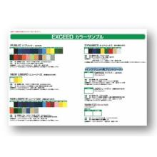 EXCEED カラーサンプル 製品画像