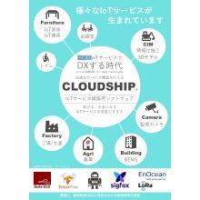 IoTサービス構築用ソフトウェア『CLOUDSHIP』 製品画像