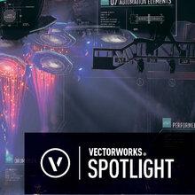 Vectorworks Spotlight(舞台照明支援CAD) 製品画像