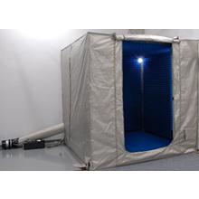 【電波吸収設備の応用例】電磁波シールドテント型簡易電波暗室 製品画像