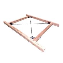 中大規模木造建築対応『高耐力 オメガメタルブレース(水平用)』 製品画像