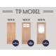 無垢建具(ドア)『TP model』 製品画像