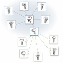 3D形状検索ソリューション Geometrical Search 製品画像