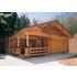 【木製】バンガロー/ログハウス【トイレ、小屋、キャンプ場など】 製品画像