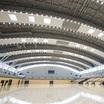 津市産業・スポーツセンター「サオリーナ」ロールスクリーン採用事例 製品画像