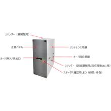 卓上型カード発行回収機『IRS-280B』 製品画像