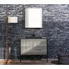 洗面台 木目調×スチール脚でビンテージ感を表現-パティーナ洗面台 製品画像