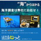 水中リアルタイム測量【小型水中ドローンを使った測量サービス】 製品画像