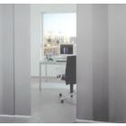 間仕切りで心地いい空間作りを!「ZIPrail Screen」 製品画像