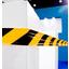 封入型反射シート『ゼブラ・テープ』 製品画像