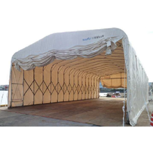 【海洋土木工事に】仮設テント倉庫レンタル 株式会社デポレント 製品画像