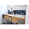 洗面室を家事の拠点に。『ワークカウンター洗面台』 製品画像
