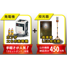 【キャンペーン】LED投光器・発電機 限定セット 製品画像