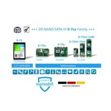 X-7x シリーズ 産業用 Gen3 SSD 3D NAND搭載 製品画像