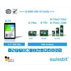 産業用SSD 3D NAND搭載 Gen3 X-75シリーズ 製品画像