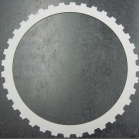 【事例】クラッチプレートへのガス軟窒化(熱処理) 製品画像