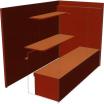 インターネットカフェ向け什器『ブース ビジネス席』 製品画像