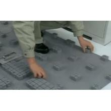 【動画で紹介!】OAフロア「ネットワークフロア」の施工法  製品画像