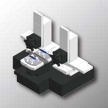 【タレットM/C】シャフト・バー材両端面加工自動化ラインのご提案 製品画像