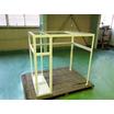 【組立溶接加工品】アングルフレームの溶接加工/焼付塗装込み 製品画像