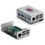 Raspberry Pi ケース  ラズベリーパイ用アルミケース 製品画像