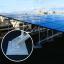 太陽光発電用あと付基礎金具『キンセイPVシステム』 製品画像