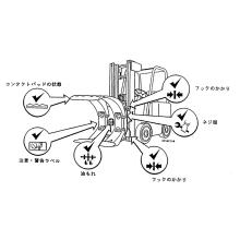 ペーパーロールクランプの保守点検 製品画像