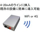 《4-20mA出力》を持つ機器に後付けするだけで簡単にIoT化 製品画像