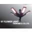 開閉式360°LED投光器『KYフラワーライト』 製品画像