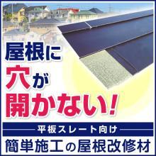 屋根リフォーム・工事の救世主!屋根リフォーム向け:シーガード工法 製品画像