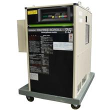 オイルフリースクロールコンプレッサ(タンク付)/レンタル 製品画像
