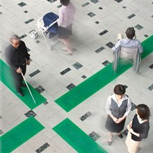 屋内誘導マット 歩導くんPlus(ユニバーサルデザイン対応) 製品画像