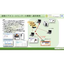 コールセンタにWebRTCのSaverVideoConnect2 製品画像