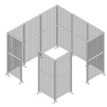 工場内安全柵『ブロックフェンス』 製品画像