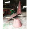 【耐摩耗鋼板HARDOX500加工品】レーザー切断+円錐曲げ加工 製品画像