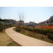 寒冷地対応!防草にも効果的! 高密度な土系舗装材『タフコート』 製品画像