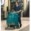 床洗浄機『バッテリー式 歩行型スクラバー T300』【新製品】 製品画像