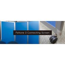 吸音製品『フェルトーン 吸音3連スクリーン』 製品画像