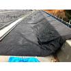コンクリート養生製品『壁高欄養生シート』 製品画像