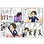 【制作事例】スマートフォン開発ストーリー4コママンガ 製品画像