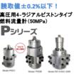 4ラジアルピストンタイプ高精度微小流量計(1.75/50Mpa) 製品画像