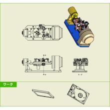 《空圧治具》パソコンHDDケース用治具 製品画像