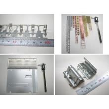 配線部品、精密部品の順送及び単発プレス加工、各種タップ加工 製品画像