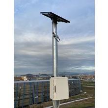 『簡易型河川監視システム』※太陽光パネルを採用 製品画像