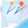 卓上置型アクリルパーティション『クリーンパネル』 製品画像