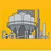 【焼結金属フィルター用途事例】触媒回収フィルター(過酸化水素) 製品画像