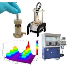 バッテリー研究用電セル&インピーダンス解析支援ソフトウェア  製品画像