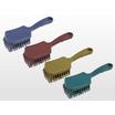 MPフーズショートハンドルブラシ 金検対応、異物混入対策用ブラシ 製品画像