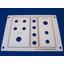 【制作事例】アクリル銘板 操作パネル レーザー彫刻 製品画像